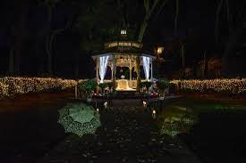 Lighted Music Gazebo by Gazebo Wedding Ceremony Cherished Ceremonies Weddings