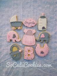 pink elephant cookies so cute cookies