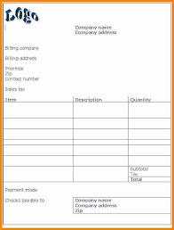 11 invoice format in word format ledger paper
