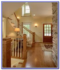 paint color with stained wood trim painting home design ideas