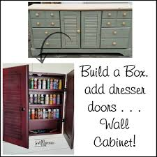 Repurpose Cabinet Doors by Wall Cabinet Craft Storage Repurposed Doors My Repurposed Life