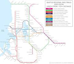 Trimet Max Map A Vision For A Comprehensive Regional Bike Trail Network