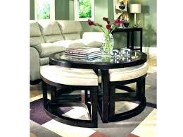 sofa table with stools underneath coffee table with seats childsafetyusa info