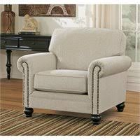 milari linen chair signature design by furniture milari accent chair with
