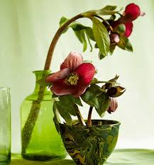 Frog Flower Vase A Spring Arrangement Inspired By An Art Nouveau Drawing Flower