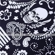 black and white bedding paisley american flag bedding skull