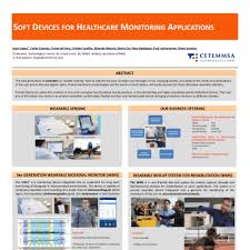 soft devices for healthcare monitoring applications poster