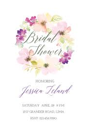 bridal invitation templates free printable bridal shower invitation templates greetings island