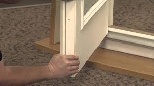 French Outswing Patio Doors by How To Install The Security Plate On An Exterior French Outswing