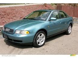 1999 jaspis green metallic audi a4 2 8 quattro sedan 9104998
