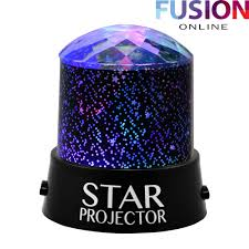 new star projector night light sky moon led projector mood lamp