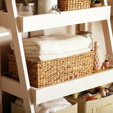 Bathroom Storage Ladder Diy Bathroom Storage Shelves The Home Depot