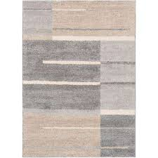 Grey Striped Rug Striped Area Rugs Rugs The Home Depot