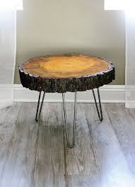 tree cross section table tree trunk coffee table pertaining to wood slice designs 8