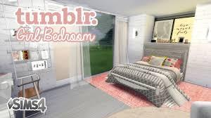 girl bedroom tumblr the sims 4 room build tumblr girl bedroom youtube