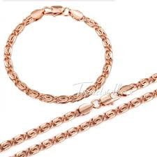 mens rose gold necklace images Cheap rose gold necklace chain find rose gold necklace chain jpg