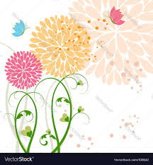 springtime background royalty free vector image