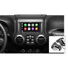 jeep wrangler navigation system 2007 2018 wrangler jk audio electronics quadratec