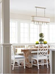 Tables With Bench Seating Farmhouse Table And Bench Seating Houzz