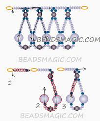 free pattern for beaded necklace madlen u need seed beads 11 0