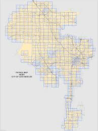 City Of Los Angeles Map by Patrolmapindex Png