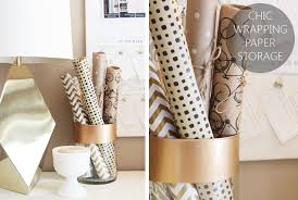 chic wrapping paper chic wrapping paper storage home made by carmona