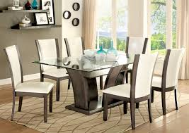 Side Table For Dining Room by Buy Furniture Of America Cm3710gy T Set Manhattan I Gray Dining