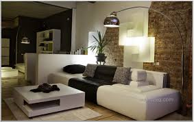black and white living room design ideas with cool art wall murals