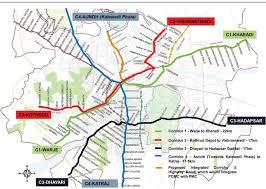Bus Route Map Rapid Transit Route Brt Pune Municipal Corporation