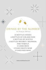 How Much Should You Spend On A Wedding Gift Get 20 Wedding Alcohol Calculator Ideas On Pinterest Without