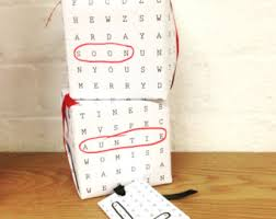 word search wrapping paper baby gift wrap etsy