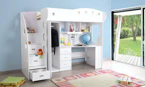 armoire bureau intégré lit mezzanine avec bureau integre lit mezzanine avec bureau