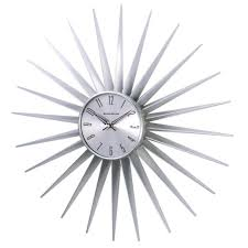 modern silver wall clock images home wall decoration ideas