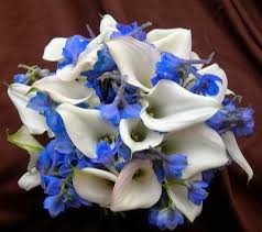 Wedding Flowers Blue And White Wedding Bouquets Las Vegas Nv Free Boutonniere With Bridal