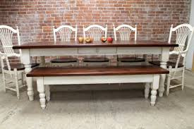 White Farm Dining Table Dining Rooms - Farmhouse dining room set