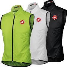 luminous cycling jacket wiggle castelli leggero windproof vest cycling gilets