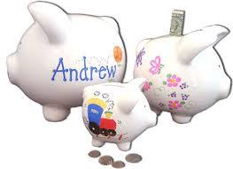 Customized Piggy Bank Personalized Piggy Bank