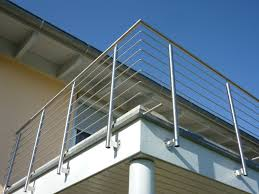 balkon edelstahlgel nder metallbau böhe metallgestaltung in hüfingen balkongeländer