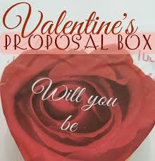 valentine u0027s day proposal box redo it yourself inspirations
