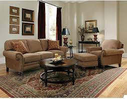 Sofa Ottoman Set Broyhill Larissa 3 Sofa And Chair With Ottoman Set In