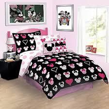 Comforter Store Reversible Love Minnie Mouse Comforter Bedding Disney Store