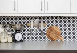 wallpaper backsplash kitchen kitchen with black and white wallpaper backsplash low cost