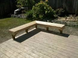 Wood Bench Designs Decks by 11 Best Bench Images On Pinterest Garden Benches Patio Bench