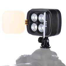 zifon led video lamp dual color temperature 3400k 5600k stepless