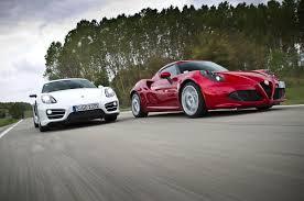 2014 porsche cayman horsepower 2014 alfa romeo 4c vs 2014 porsche cayman comparison