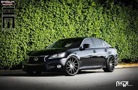 lexus wheels and tyres lexus gs 350 niche surge m114 wheels black u0026 machined w dark tint