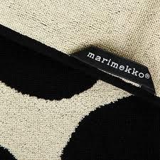 Marimekko Unikko Duvet Buy Marimekko Unikko Towel Black Sand Amara