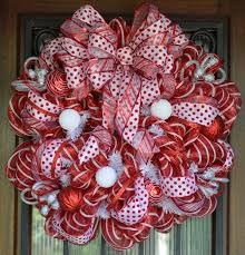 mesh wreaths and white deco mesh wreath by
