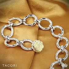 rose link bracelet images Tacori blushing rose link bracelet 2929 jpg