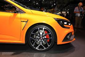 renault sport rs 2018 renault megane rs is the best hatchback at iaa 2017